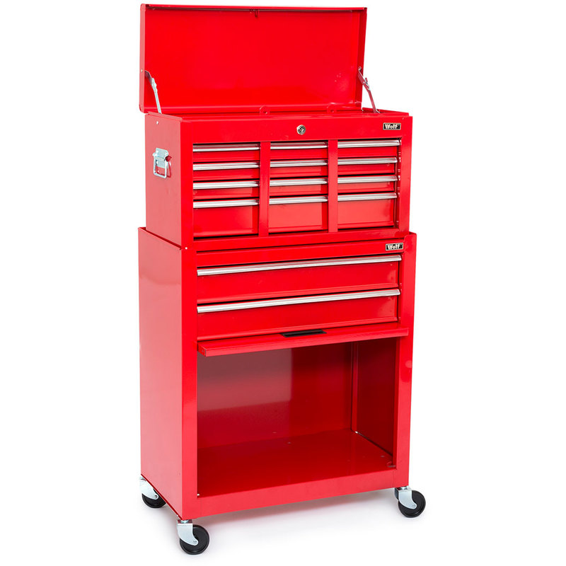 Wolf Combination Tool Chest And Cabinet