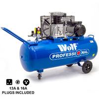 Wolf Dakota 150L Air Compressor 14 CFM 3HP