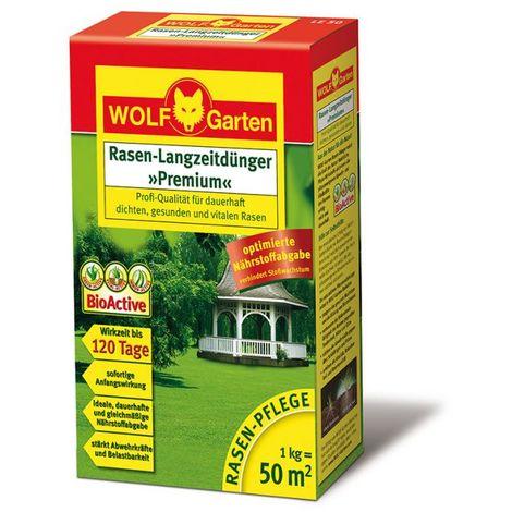 Wolf Garten Engrais gazon longue durée LE 50 - 3830010