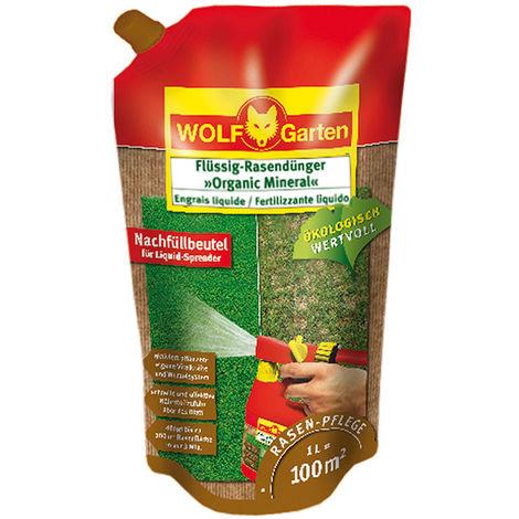 Wolf Garten LO 100 B Engrais gazon liquide vital 'Organic mineral' 1L - 3847010