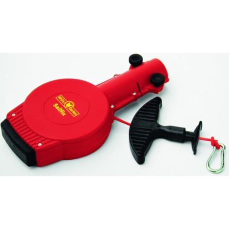 WOLF-Garten Seilfix ZS-M, multi-star®, Seilwinde, rot/schwarz, Zugseilstraffer mit Spezialziehgriff