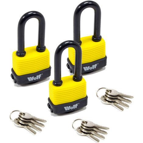 Black Master Lock Hardened Steel Cycle Bike Lock 8391EURDPRO 900mm x 8mm
