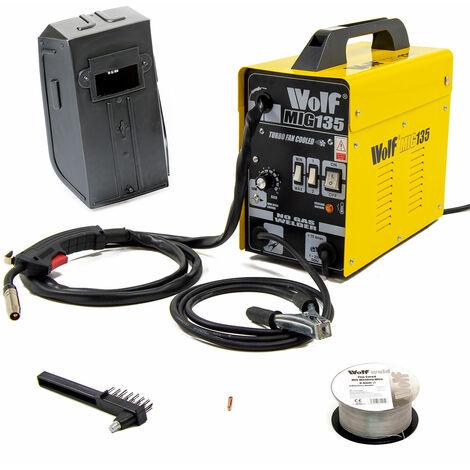 Wolf MIG 130 No-Gas Welder