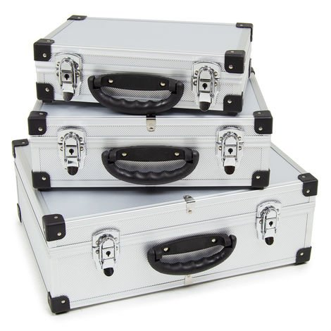 Wolf Nest of 3 Storage / Carry Cases