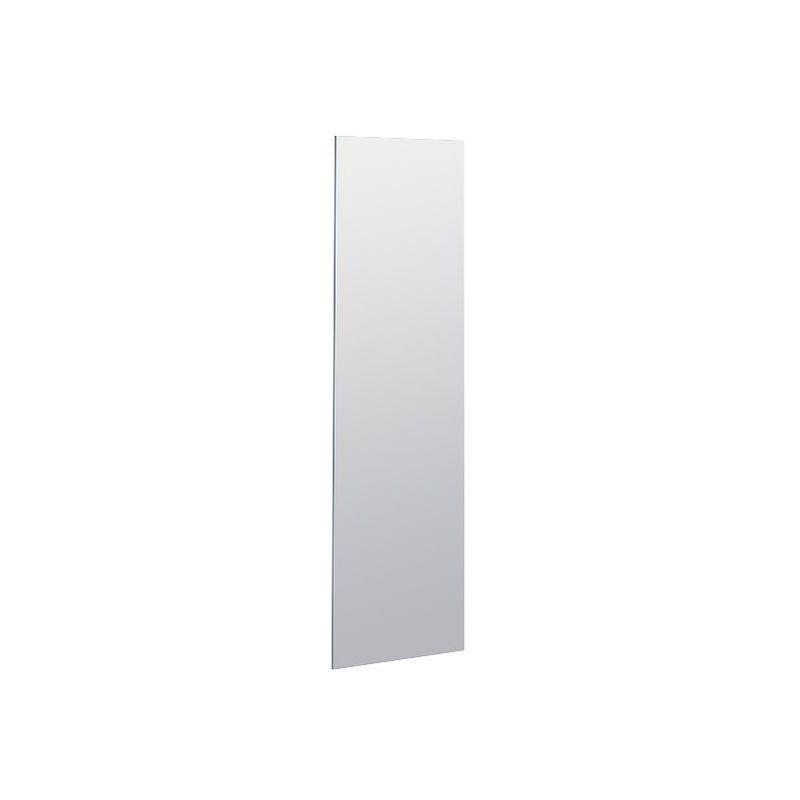 Paroi arrière pour penderie - gris clair RAL 7035 - l x h 450 x 1800 mm - Coloris: Gris clair RAL 7035 - Wolf