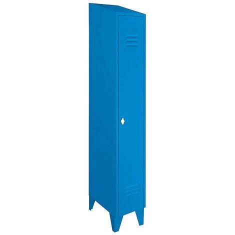 Wolf Penderie à portes en Z, hauteur compartiments 820 mm - h x l x p 1850 x 800 x 500 mm, largeur compartiments 400 mm