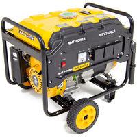 Wolf Power 4.0KVA Heavy Duty Petrol Powered Generator With Wheel Kit WPV3500LR