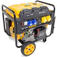 Wolf Power 9.0KVA Heavy Duty Petrol Powered Generator WPV7500E