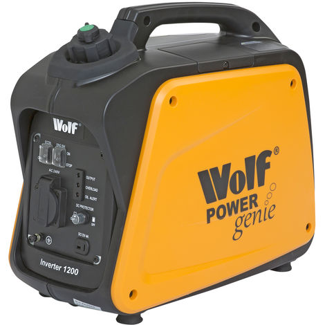Wolf Power Genie 1200w Petrol Inverter Generator WPG1200