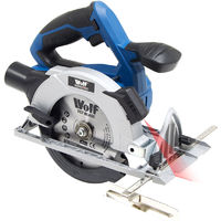 Wolf Professional Cordless 20v 150mm Circular Saw with Laser - Bare Tool