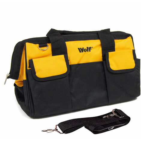 "Wolf Professional 19"" (470mm) Heavy Duty Tool & Travel Bag"