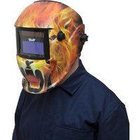 Wolf 'Roaring Lion' Welding Auto Darkening Helmet