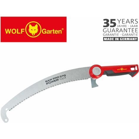 "main image of ""WOLF Sega da potatura Power Cut Saw Pro 370 segaccio pota di alberi giardinaggio giardino"""