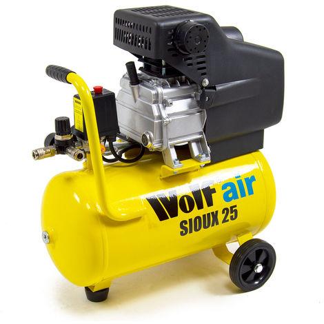 Wolf Sioux 25 Air Compressor 2.5HP, 9.6CFM