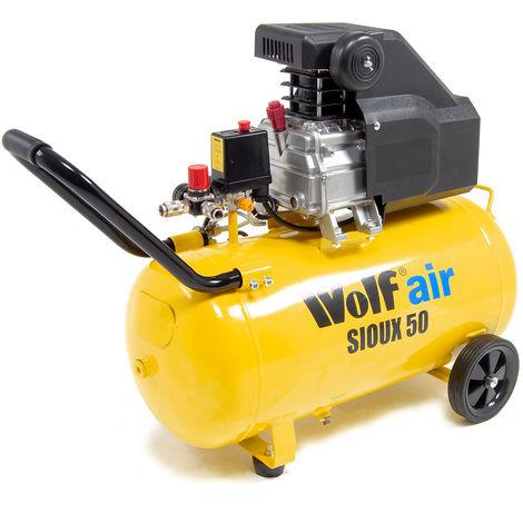 Wolf Sioux 50 MK3 2.5HP, 9.6CFM Air Compressor