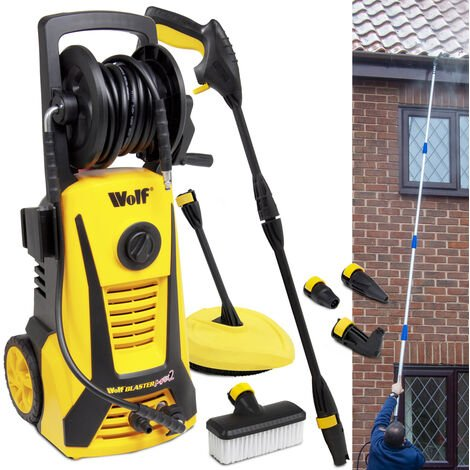 Wolf Sky Blaster MAX 165BAR Pressure Washer & Telescopic Lance