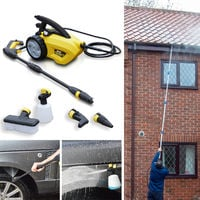 Wolf Sky Blaster Pressure Washer & Sky Reacher Telescopic Lance