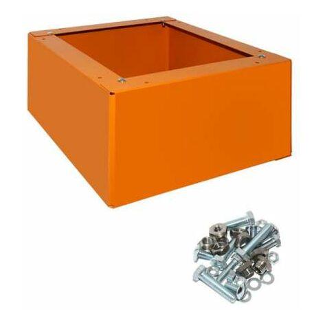 Wolf Sockel für Guss 22kW/Gas 29-41kW Maße (HxBxT in mm) 280x558x505 8902316