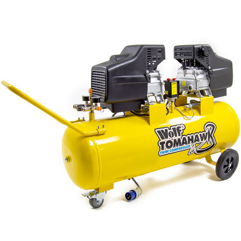 Wolf Tomahawk 100L Air Compressor 19.2 CFM 2 x 2.5HP