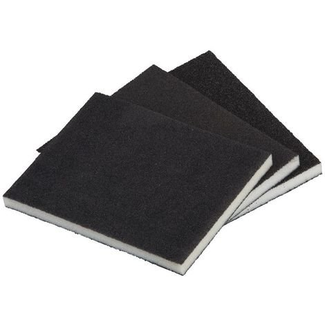 WOLFCRAFT 2895000 - Esponjas abrasivas grano 60120180 125 x 100 x 10 mm