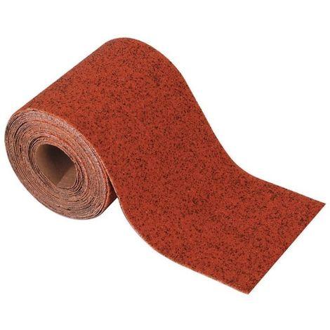 WOLFCRAFT 3173000 - Rollo papel abrasivo grano 100 5 m x 93 mm