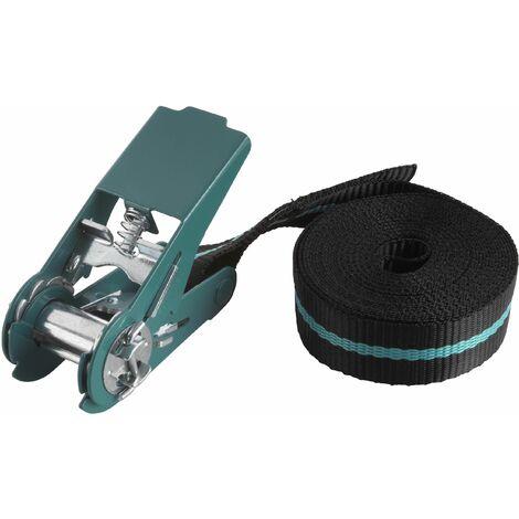 Wolfcraft 3418000 - 1 tensor de cinta de carraca (fuerza de sujeción 180 kg) 4 m 4m