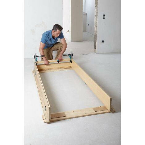 Wolfcraft 3676000 - 1 kit de montaje de cerco de puerta Pro