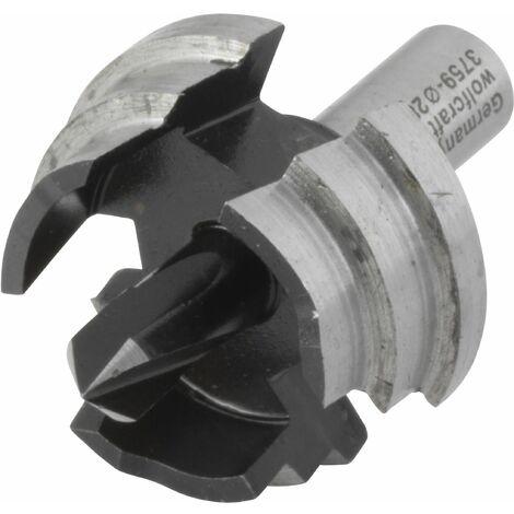 Wolfcraft 3759000 - 1 Broca Especial Para Plástico Reforzado Con Fibra De Vidrio Ø 28, 32, 35 Mm