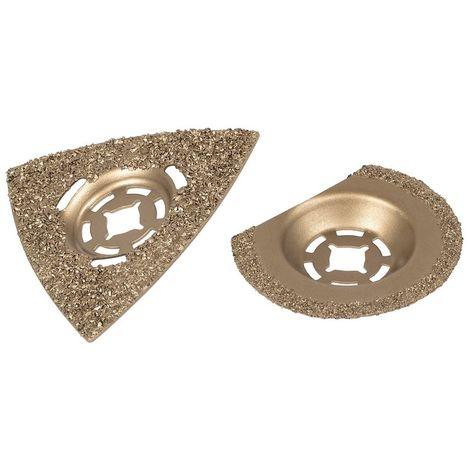 WOLFCRAFT 3993000 - Set de accesorios para piedra y baldosas