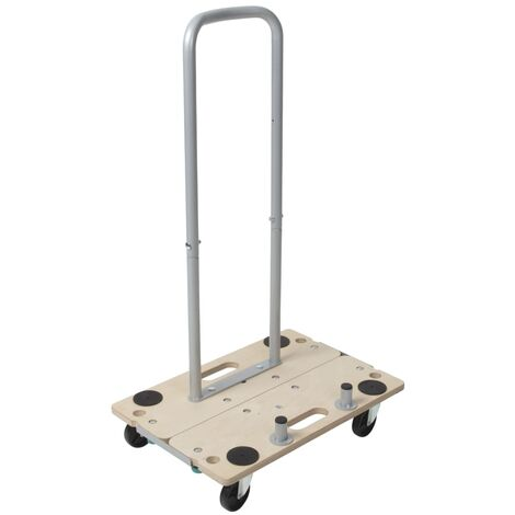 wolfcraft 5-in-1 Furniture Dolly with Handle FT350B 5548000 - Beige
