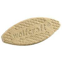 Wolfcraft 50 piastrine a lamello 61 x 23 x 4 mm - 2923000