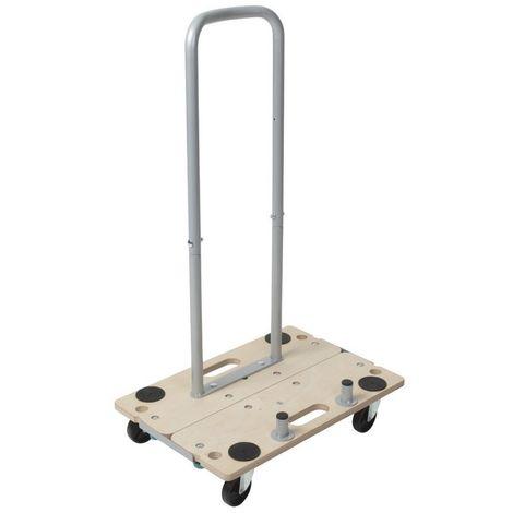WOLFCRAFT 5548000 - 1 carretilla para muebles FT350 B divisible con asa funcion 5 en 1