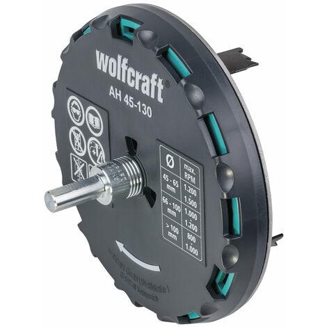 wolfcraft 5978000 AH 45-130 - Adjustable Hole Saw