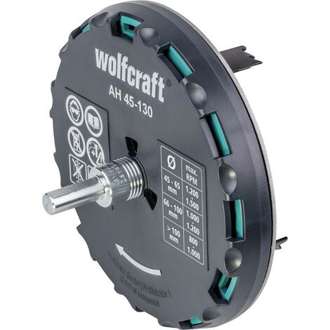 """main image of """"Wolfcraft 5978000 Scie-cloche 1 pièce 1 pc(s) C383881"""""""