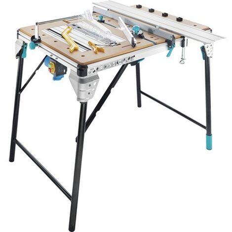 Wolfcraft 6902000 Master Cut 2500 - Scie sur table + accessoires - multifonctionnel - 570mm - 1800W