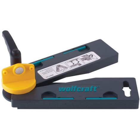 wolfcraft Bevel Gauge with Angle Bisector 6921000