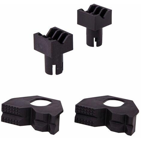 Wolfcraft Cales de serrage pour pièces rondes ou plates pour tout établi avec perforation de ø 20 mm. pour réf