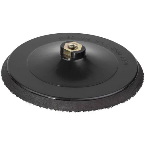 wolfcraft Easy-fix Backing Pad for Sandpaper 180 mm M14 5618000