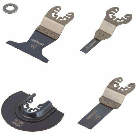 Wolfcraft Five Piece Oscillating Multi-Tool Accessory Set PRO 3961000
