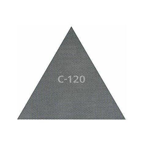 Wolfcraft haft Grille de lin carbure de silicium, grain 120, 290x 250mm, lot de 3,, 3162000