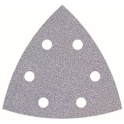Wolfcraft Haftschleifblätter, K120 für Deltaschleifer, 5 Stück