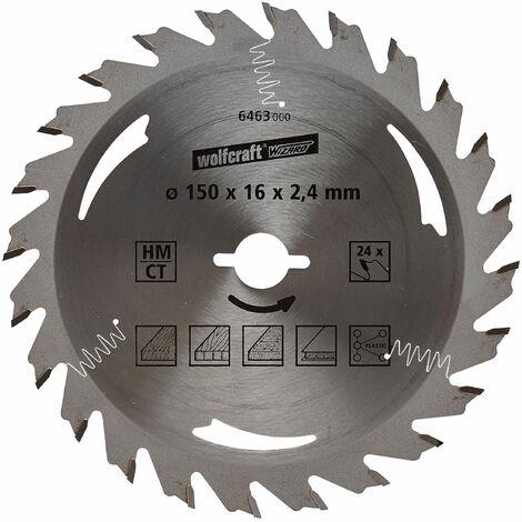 2x Kreissägeblatt Hartmetall HM 184 x 16mm 24 Zähne Holz Deutscher Hersteller
