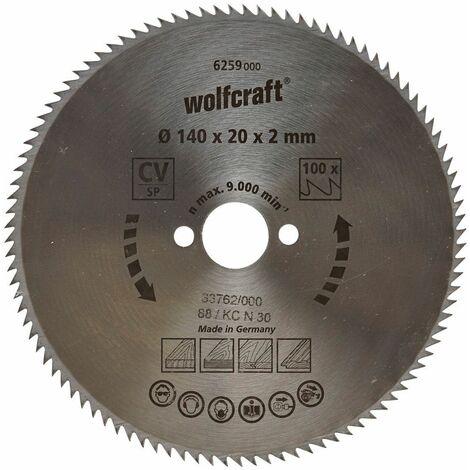 Wolfcraft Lame de scie circulaire CV, 90 dents
