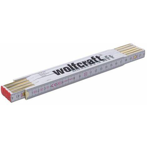 Wolfcraft Mètre pliant, 2 m - 5227000