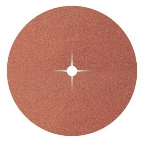 WOLFCRAFT Pack 10 discos de papel abrasivo de corindón grano 80 ø125 2002000 wolfcraft