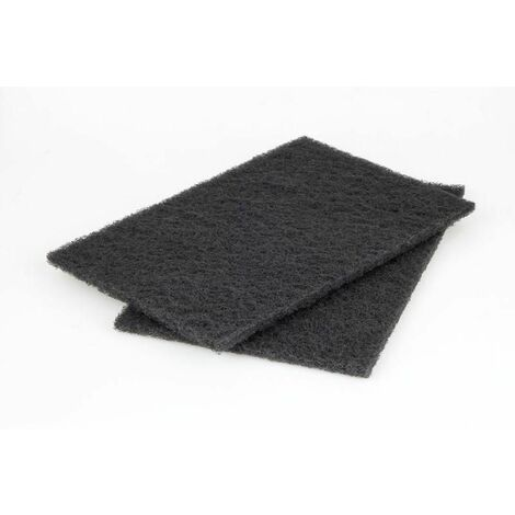 Wolfcraft Patins fibre abrasifs