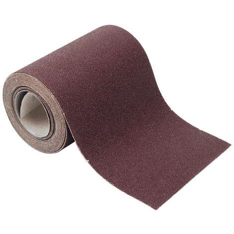Wolfcraft Rouleaux de papier abrasif auto-agrippant 4 m, grain : 60