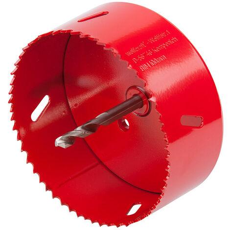 """main image of """"WOLFCRAFT Sierra de corona bim completo con adaptador y broca piloto ø100 5493000 wolfcraft"""""""