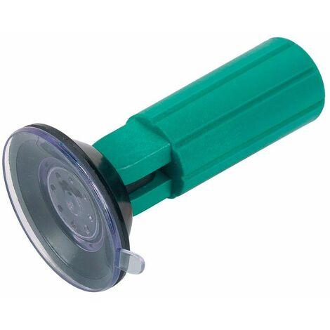 Wolfcraft Support à ventouse spécial halogène pour le remplacement des ampoules halogènes