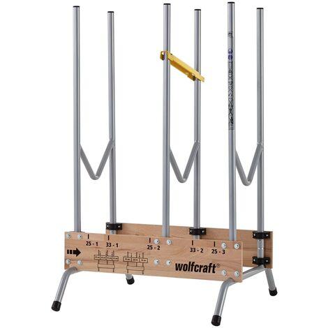 wolfcraft Support de scie à bûches pour tronçonneuse 5121000